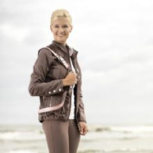 CAVALLINO MARINO SOFT POWDER SHELL  LADIES JACKET RRP £115  SALE